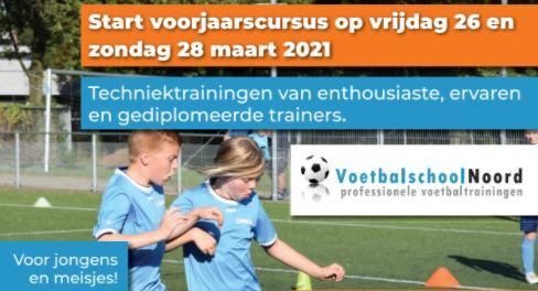 Voorjaarscursus VoetbalschoolNoord