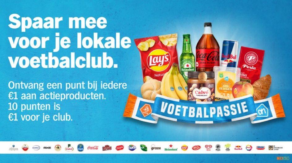 Voetbalpassie actie van Albert Heijn