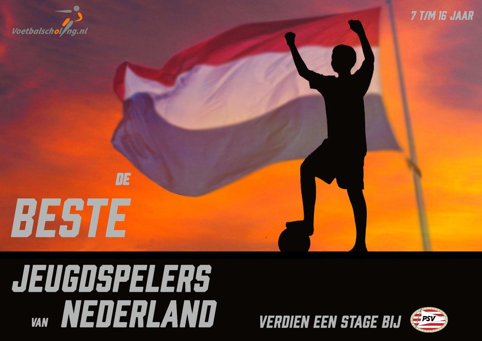 'De beste jeugdspelers van Nederland'